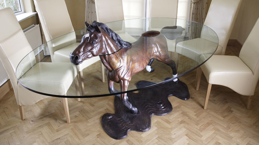 Bespoke Commission Horse Table