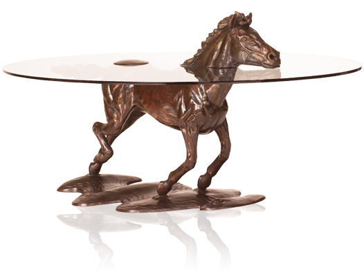 Unique Bronze Coffee Tables