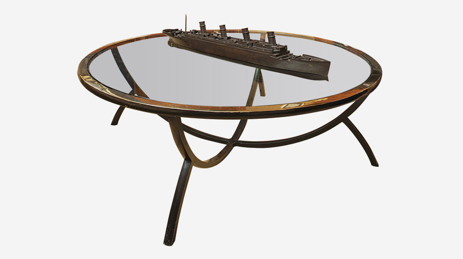 Titanic Table Sculpture