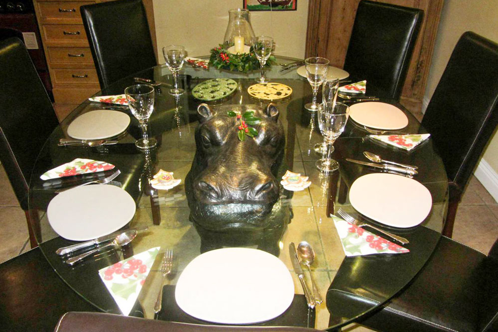 Hippopotamus Dining Table